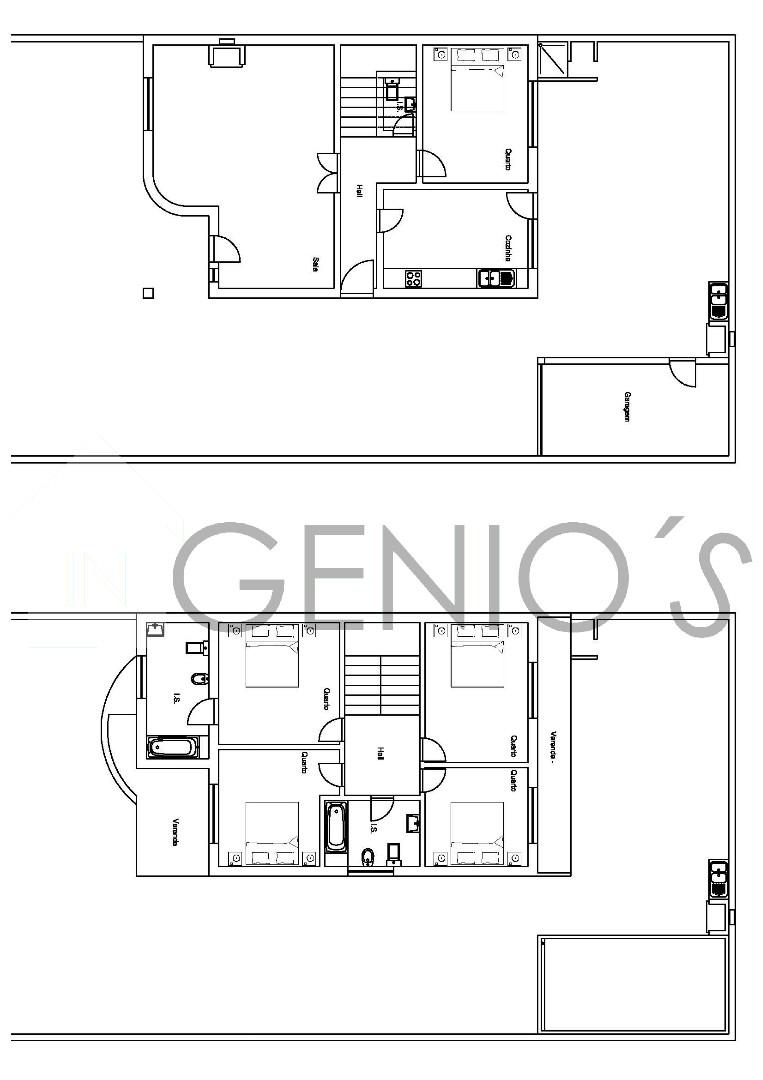Vivienda Adosada 5 habitaciones