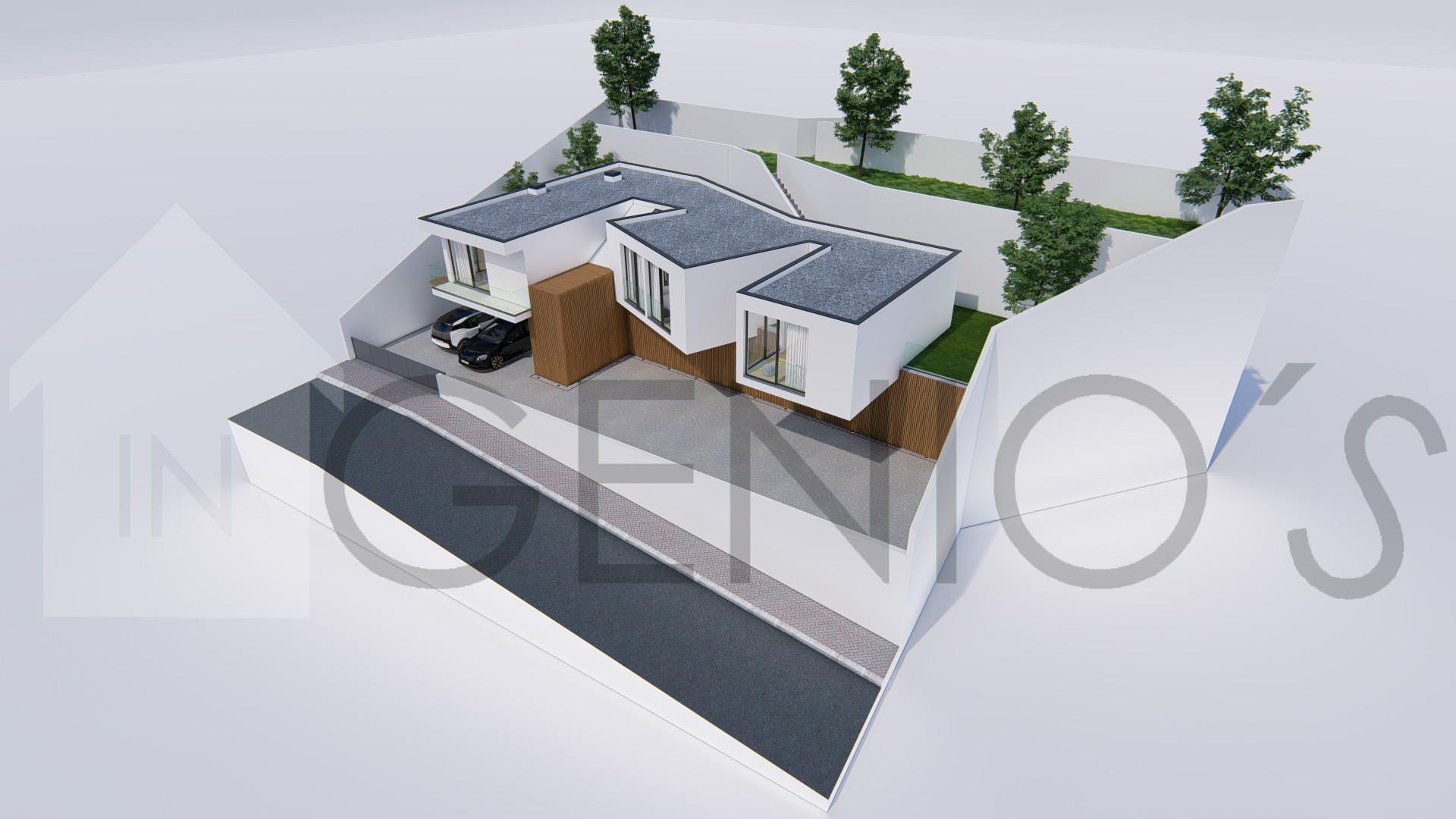 3 sovrum hus i LSF